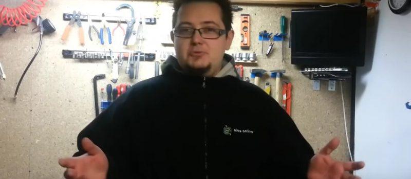 Test baterii AA
