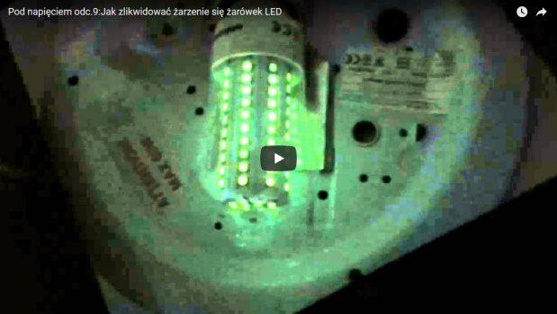 Jak zlikwidować żarzenie się żarówki LED