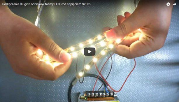 Właściwe podłączenie długich odcinków listw LED