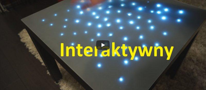 Jak zrobić interaktywny stolik LED.