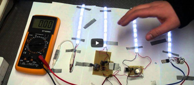 Jak zrobić ściemniacz do taśm LED ( dimmer )