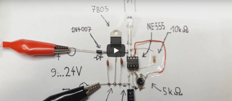 Jak zrobić migającą diodę LED