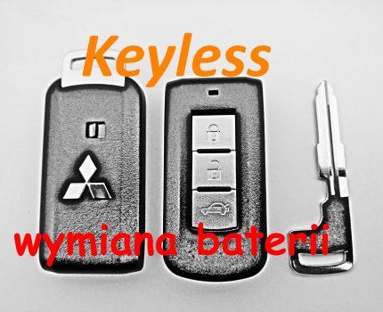 """Jak wymienić baterie w kluczyku marki Mitsubishi tzw. """"keyless"""""""