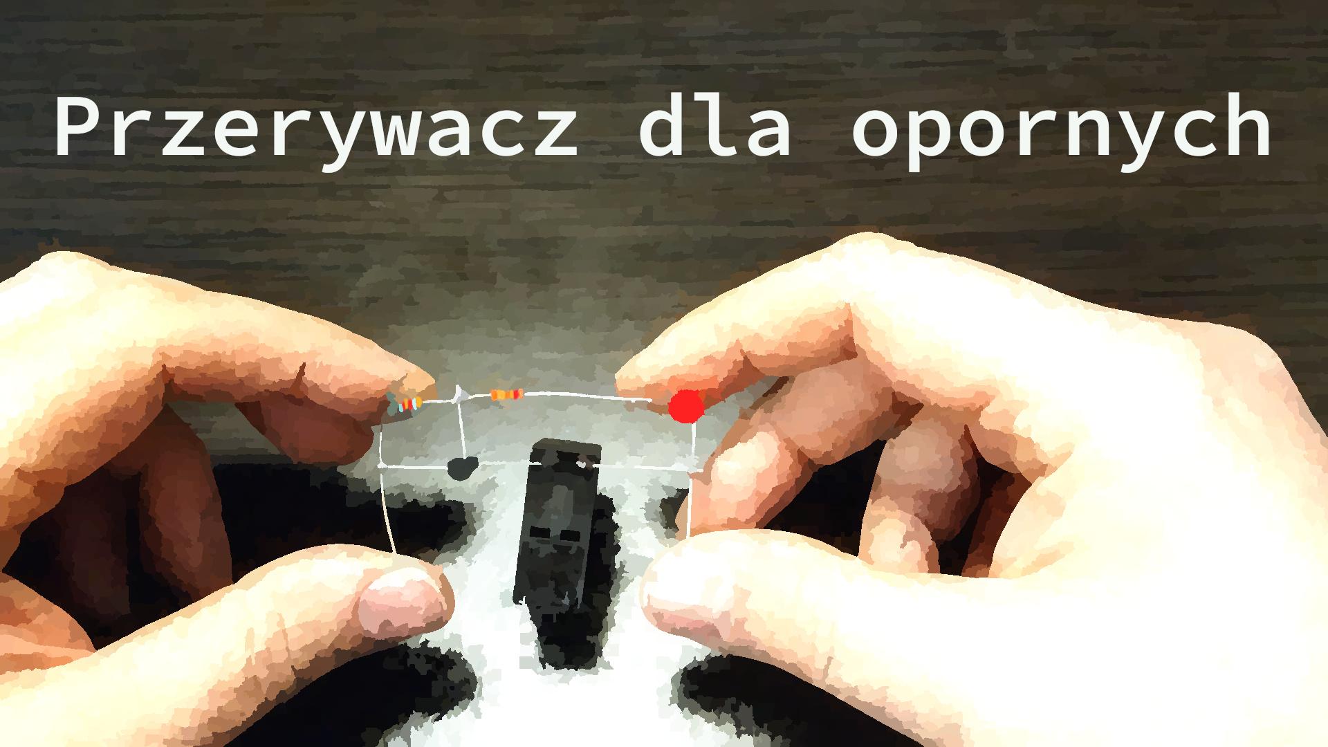 Jak zrobić prosty przerywacz z migającej diody LED.