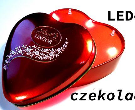 LED owe bijące serce Walentynkowe czyli pomysł na prezent w walentynki.